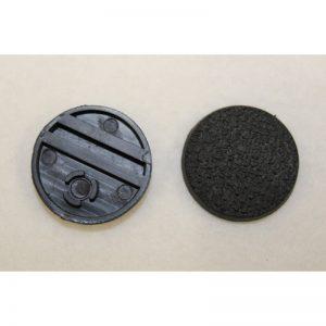 Round Plastic Bases (Textured)