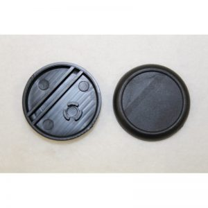 Round Plastic Bases (Recessed Top)