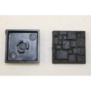 Square Plastic Bases (Textured)