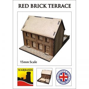 Red Brick Terrace 15mm