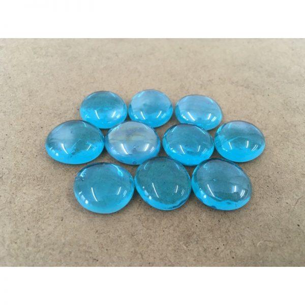 Glass Gemstones - Aqua