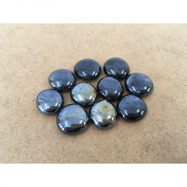 Glass Gemstones - Black