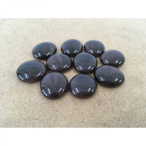 Glass Gemstones - Brown