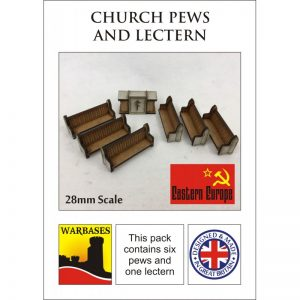 Eastern Europe Pews and Lectern