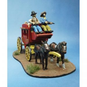 Stagecoach Figure Set