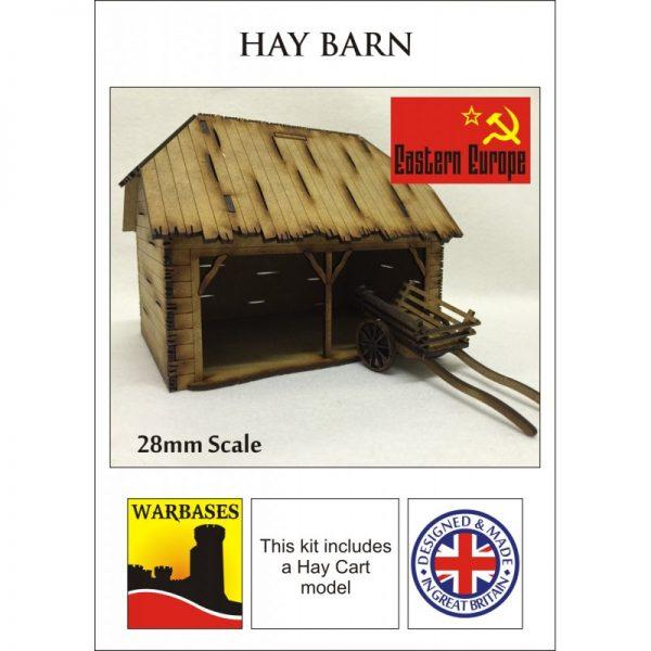 Eastern Europe Hay Barn
