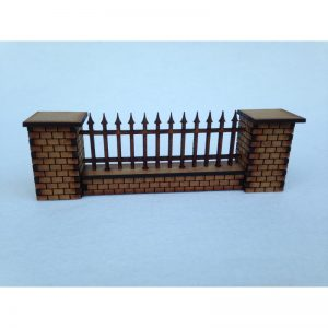 Fence Railings 28mm Scale (Spear)