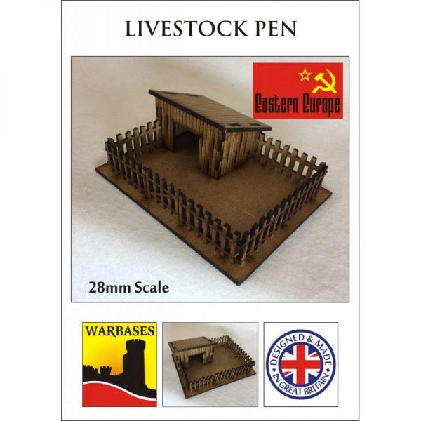 Eastern Europe Livestock Pen