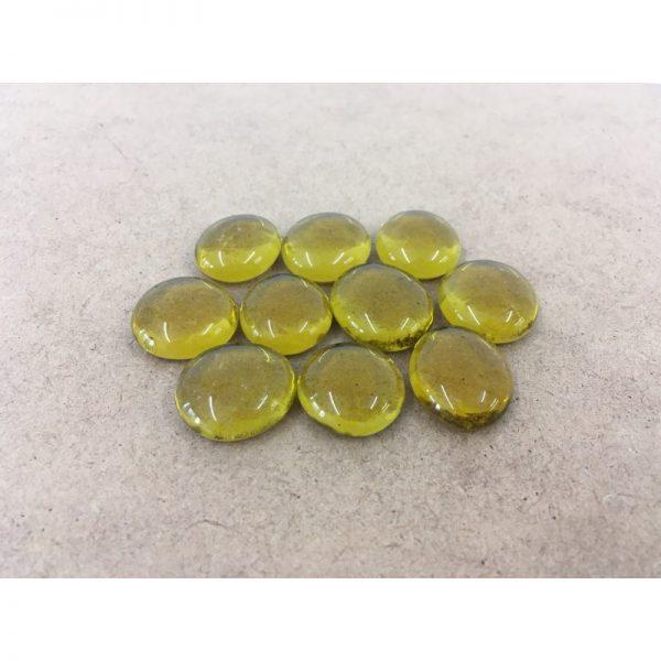 Glass Gemstones - Yellow
