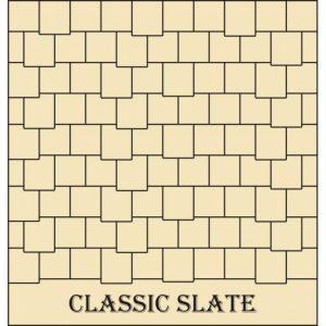 Classic Slate Tiling