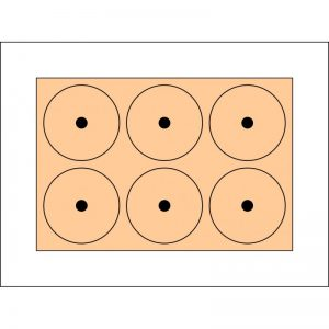 Tray with magnet holes